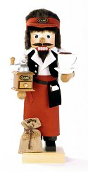 Coffee Barista<br> 2012 Ulbricht Nutcracker