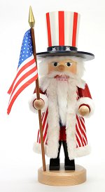 Uncle Sam<br> 2013 Ulbricht Nutcracker