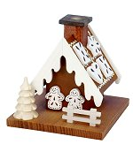 Gingerbread House<br> Natural Ulbricht Smoker