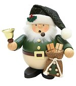 Green Santa & Bell<br>Large Ulbricht Smoker