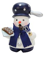 Baking Snowman<br>2017 Mini Ulbricht Smoker