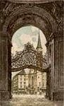 Palace Gate - Vienna by Josef Eidenberger