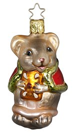 Christmas Mouse<br>2016 Inge-glas Ornament
