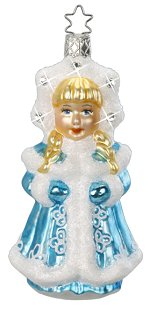 Snowflake Princess<br>Inge-glas Ornament