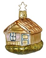 Happy Cottage<br>2016 Inge-glas Ornament