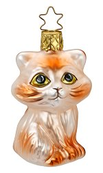 Kitty Cat - Mieze<br>2017 Inge-glas Ornament