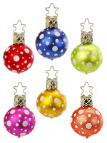 Polka Town 3 cm Balls<br>6 Assorted Colors