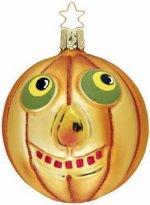 Jack-O - Halloween Pumpkin<br>Inge-glas Ornament