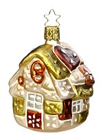 Gingerbread Haus<br>Inge-glas Ornament