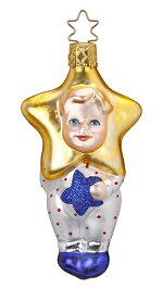 Newborn Star<br>2017 Inge-glas Ornament