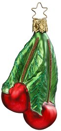 Choice Cherries<br>Inge-glas Ornament