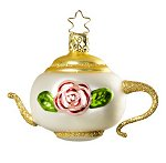 A Teapot - Brides<br>Replacement Ornament