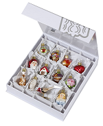 Bride's Collection<br>Mini Ornaments - Deluxe
