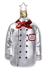 Chef's Jacket<br>Inge-glas Ornament