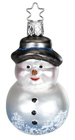 Old Friend - Snowman<br>Inge-glas Ornament
