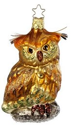 Forest Owl<br>Inge-glas Ornament