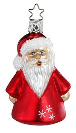 Mini Nik - Small Santa<br>Inge-glas Ornament
