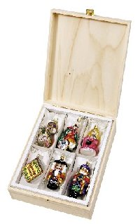 Nutcracker Fantasy  6 piece<br>Boxed Inge-glas Set