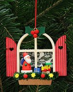 Advent Window Santa<br> 2014 Ulbricht Ornament