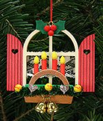 Advent Window Arch<br>2014 Ulbricht Ornament