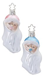 Baby Wrap - Asst<br>Newborn Ornament