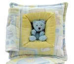 Boys World & Bear<br>10 Inch Peek-A-Boo Pillow