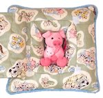 Farm Babies - Pig<br>11 Inch Peek-A-Boo Pillow