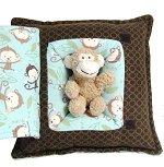 Little Monkey<br>Peek-A-Boo Pillow - Medium
