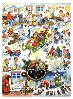 Gingerbread  Heart<br>Korsch Advent Calendar
