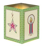 Tea Light Luminary<br>Advent Calendar Card