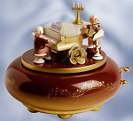 Mozart at Piano - 250th<br>Anniversary Music Box