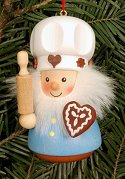 Gingerbread Baker - Ulbricht<br>Roly-Poly Ornament