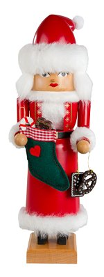 Mrs Santa<br>Small KWO Nutcracker