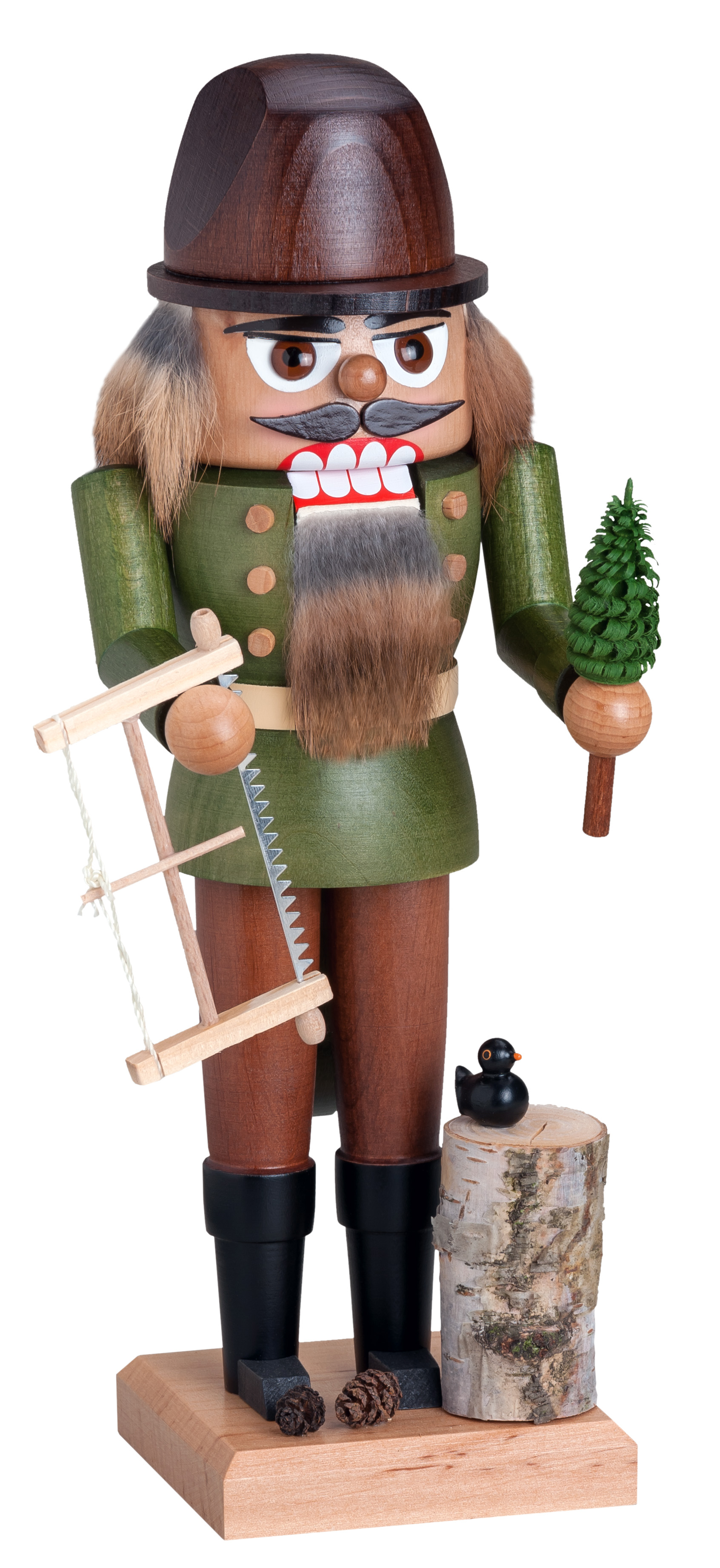 Woodsman - Tree Cutter<br>Small KWO Nutcracker