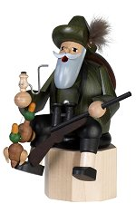 Duck Hunter - Sitting<br>KWO Bearded Smoker