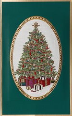 Decorated Tree<br>Brett Card Collection 2017-18