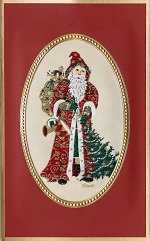 Victorian Santa<br>Brett Card Collection - 2017