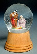 Holy Family<br> Vienna Snow Globe