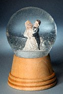 Wedding Couple<br> Perzy Snow Globe