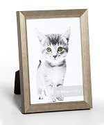 Eleganza - 5/8 Gilded Silver<br>Roma Photo Frame
