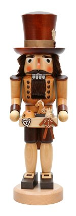 Large Toy Trader<br>Natural Ulbricht Nutcracker
