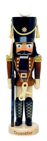 Natural Toy Soldier<br> Ulbricht Nutcracker