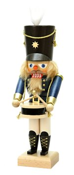 Drummer - Small Blue<br> 2014 Ulbricht Nutcracker