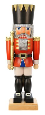 Giant Red King<br>28 Inch Ulbricht Nutcracker