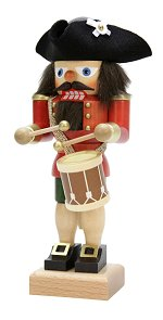 Colonial Drummer - Red<br>2015 Ulbricht Nutcracker