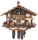 Schneider  8 Day Chalet Clock Beer Garden