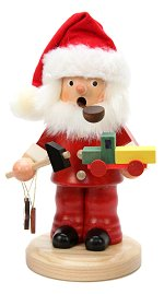 Puddle pants Santa with Toys<br>Ulbricht Smoker