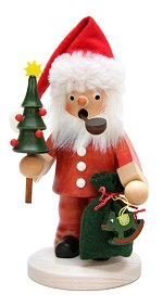 Puddle pants Santa with Tree<br>Ulbricht Smoker