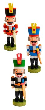 Soldier Nutcrackers<br>Graupner Ornament