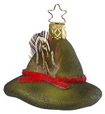 Forestry Hat<br>Inge-glas Ornament